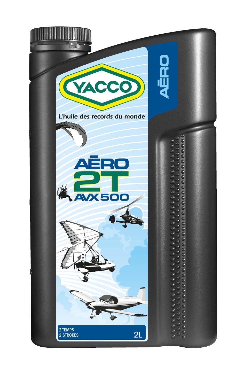 L'huile Yacco AVX 500 2T